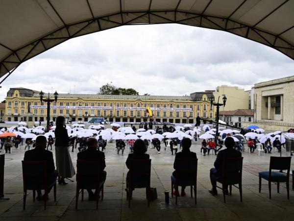 Acto de Reconciliación en Bogotá
