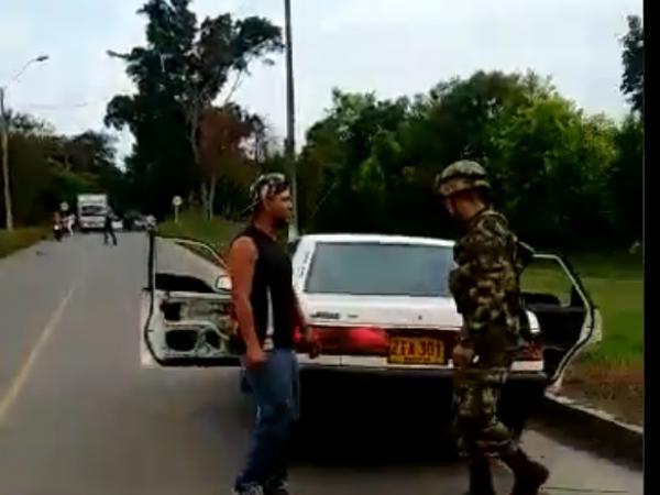 Drama en retén en Miranda, Cauca