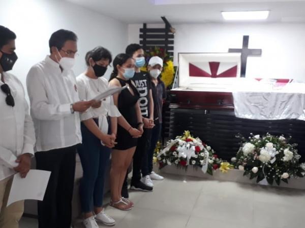 La Fundación Festival de la Leyenda Vallenata se hizo presente para dar la más sentida condolencia.