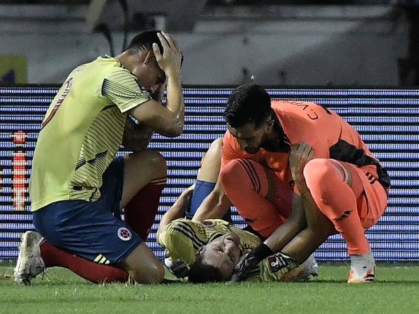 James Rodríguez lesión Santiago Arias