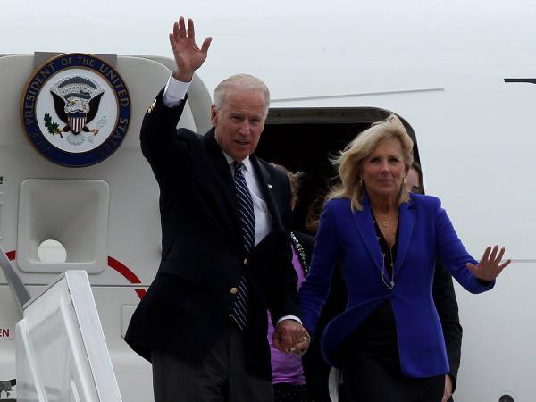 Joe Biden y Jill Biden