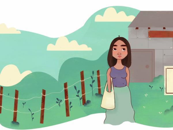Ilustración del libro 'Pies para qué te quiero'