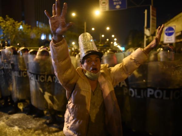 Protestas en Perú 2