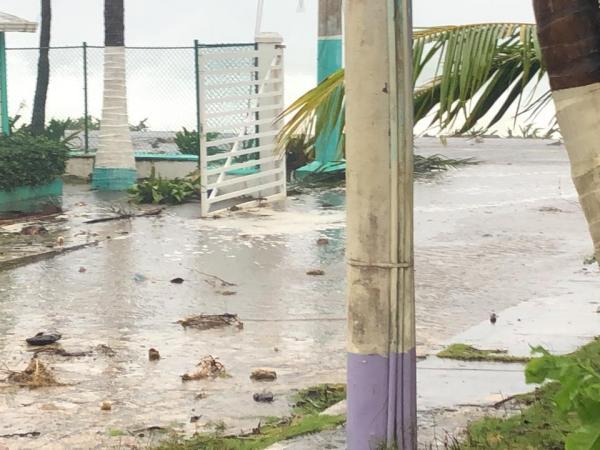 Huracán Iota en San Andrés