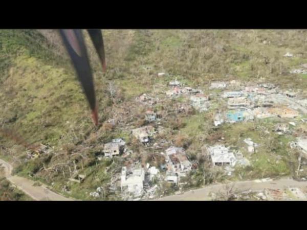 Huracán Iota en Providencia