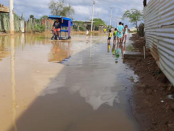 Las afectaciones se presentan en los municipios de Riohacha, Manaure, Maicao, Uribia, Albania, Distracción, El Molino y Villanueva.