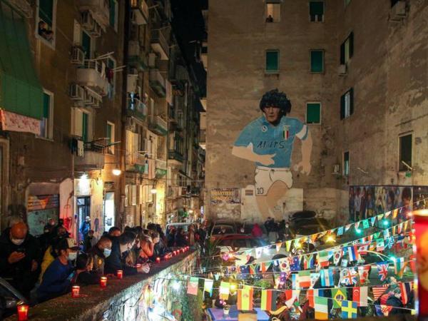 Mural Maradona