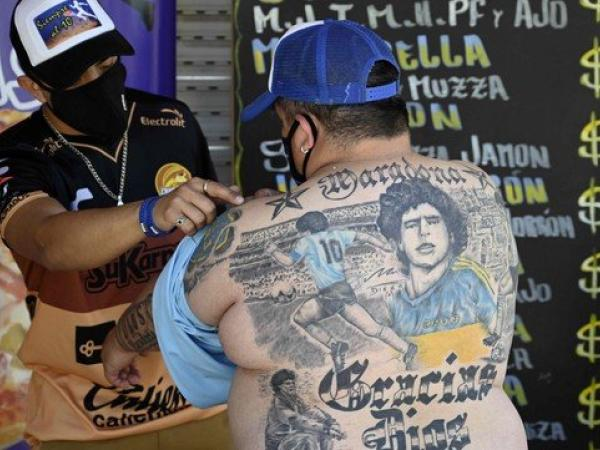 Tatuajes Maradona