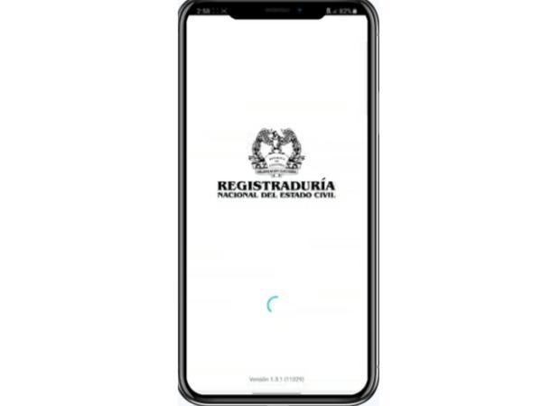 Cédula digital en el celular