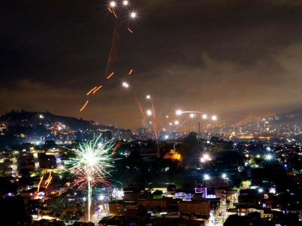 Pese a restricción, en Medellín usaron pólvora por alborada