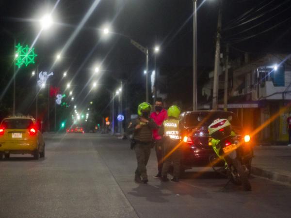 Navidad con toque de queda en Barranquilla