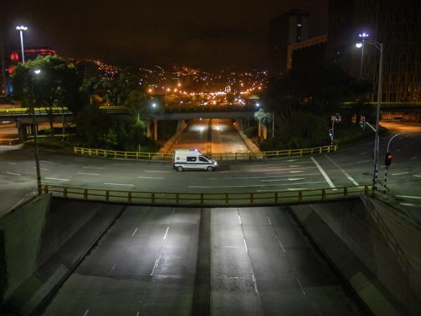 Toque de queda (cuarentena) en Medellín
