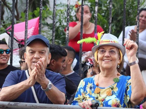 Los padres de Carlos Calero llevan 56 años juntos.