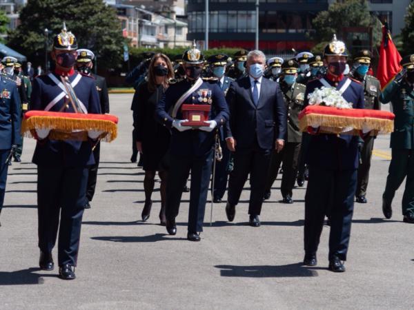 Honras fúnebres Carlos Holmes Trujillo