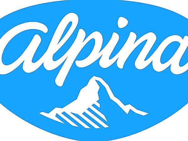 Nuevo logo de Alpina