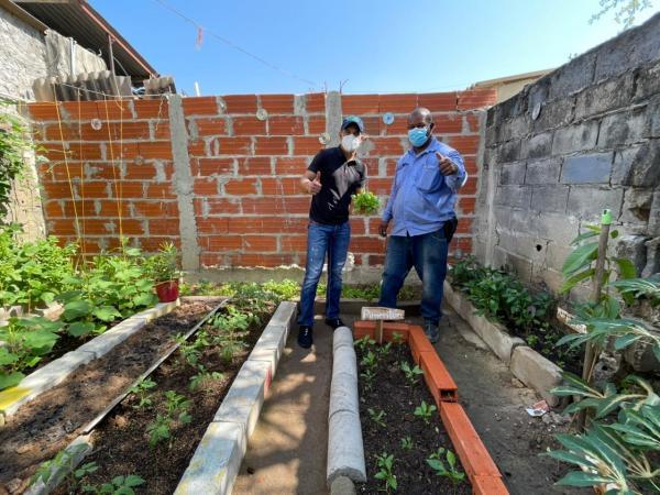 Huertas caseras en Barranquilla
