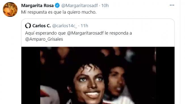 Amparo sobre Margarita Rosa