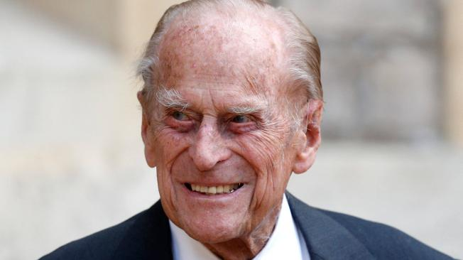 Príncipe Felipe, esposo de la reina Isabel II, de Inglaterra