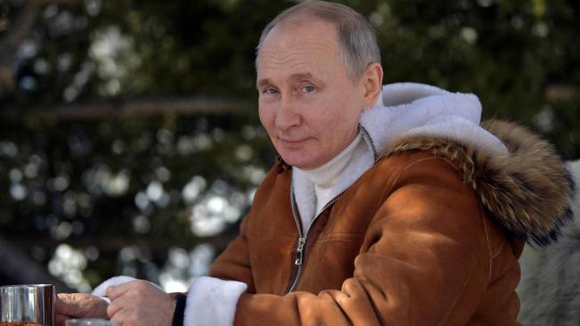 Vladimir Putin, de vacaciones