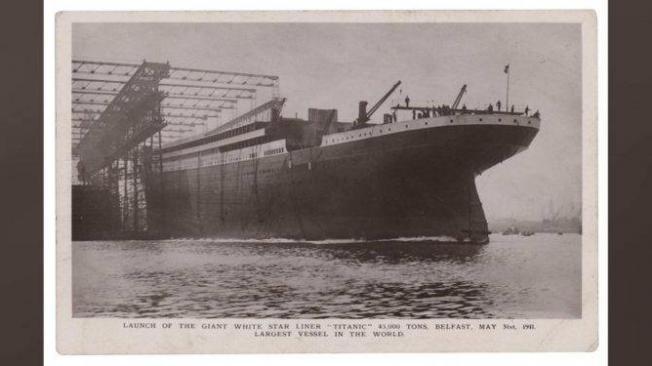 Postal del Titanic