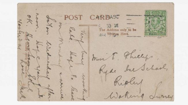 Postal del Titanic 2