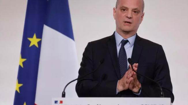 El ministro francés de Educación, Jean-Michel Blanquer, el 22 de abril de 2021 en París