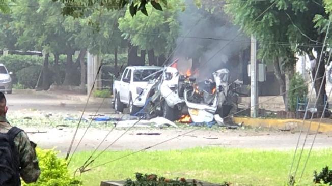 Carro bomba en batallón de Cúcuta