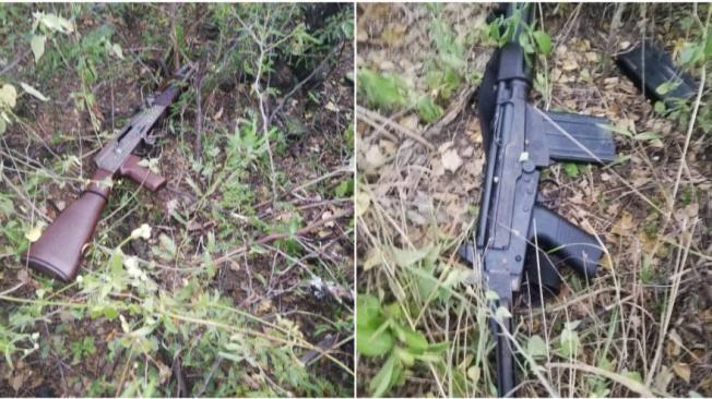 Fusil Fal utilizado para atentar contra el helicóptero presidencia