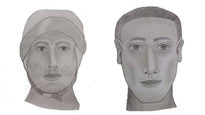 retratos hablados de responsables de atentado a duque