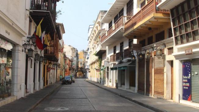 Calle Primera de Badillo, escenario del bochornoso acto sexual al aire libre.