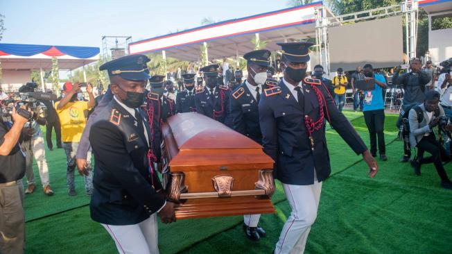 Presidente de Haití: Sepultan al asesinado Jovenel Moïse - Latinoamérica - Internacional - ELTIEMPO.COM