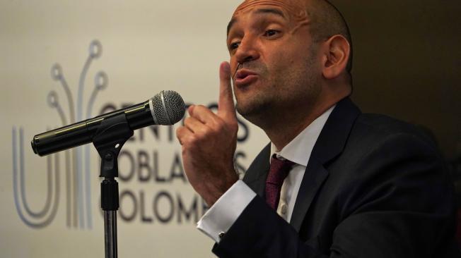 Luis Fernando Duque Torres, representante legal de la Unión Temporal Centros Poblados