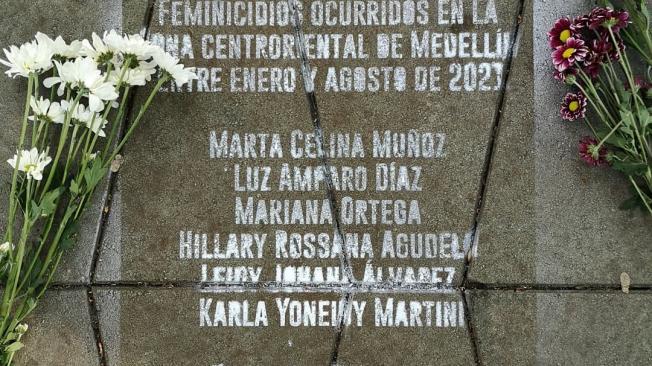 Feminicidios en Medellín