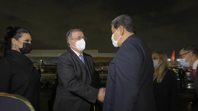 Nicolás Maduro llega a México para la cumbre de la Celac - Latinoamérica -  Internacional - ELTIEMPO.COM