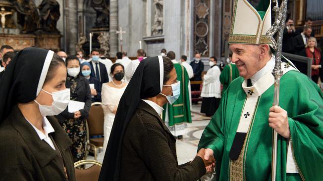 El saludo del papa Francisco a Gloria Cecilia Narváez