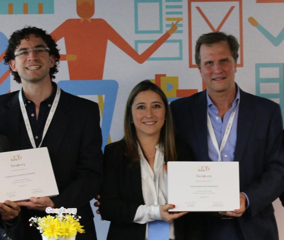Google dará más de un millón de dólares a ONG's en Colombia