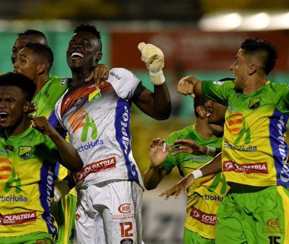 Huila, semifinalista; eliminó a Patriotas en los penaltis