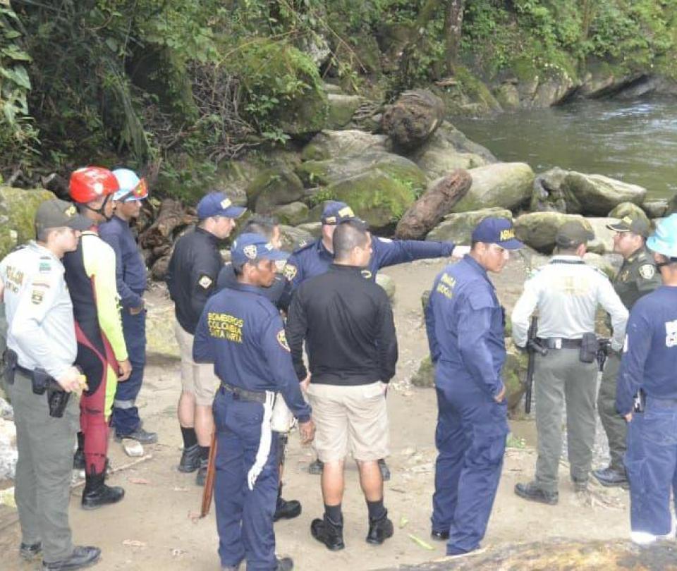 Encuentran muerto a hombre que había desaparecido con su hijo en Minca