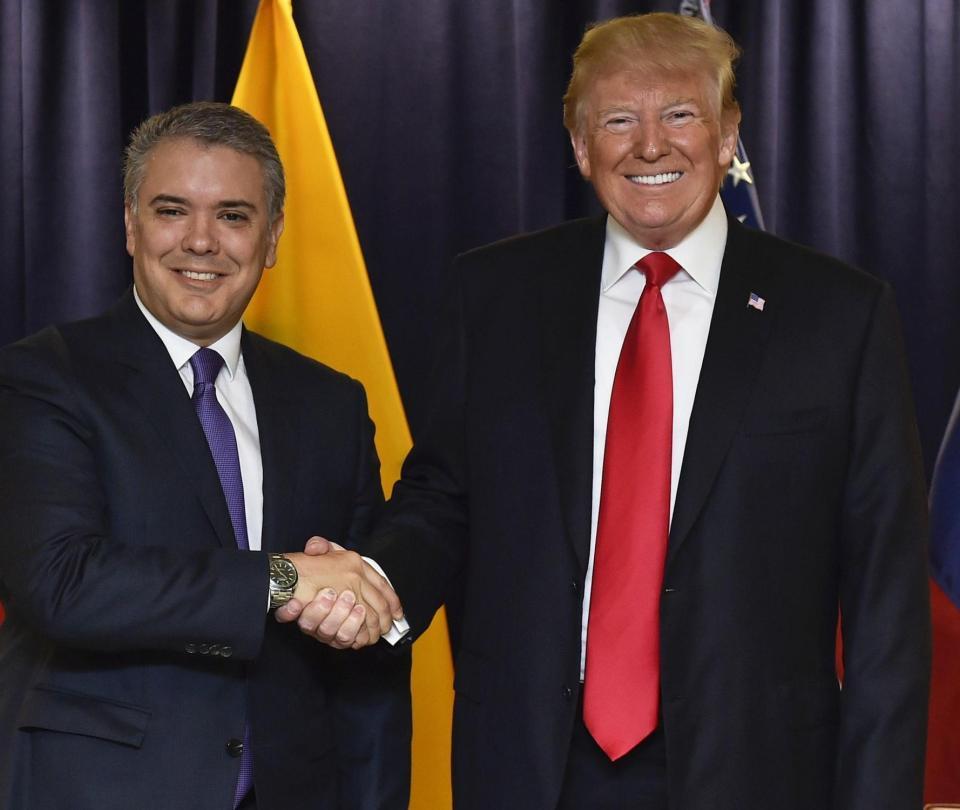 Las coincidencias entre Duque y Trump en su primera cumbre