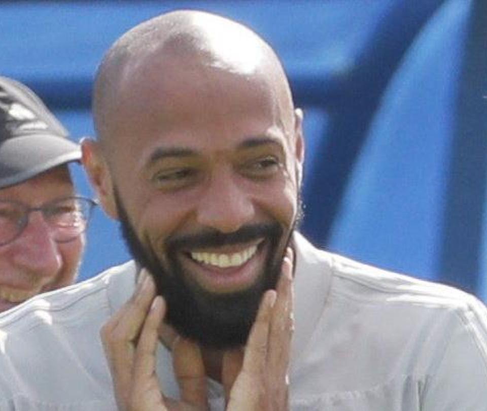 Thierry Henry sería el nuevo DT de Falcao en el Mónaco, según L'Equipe