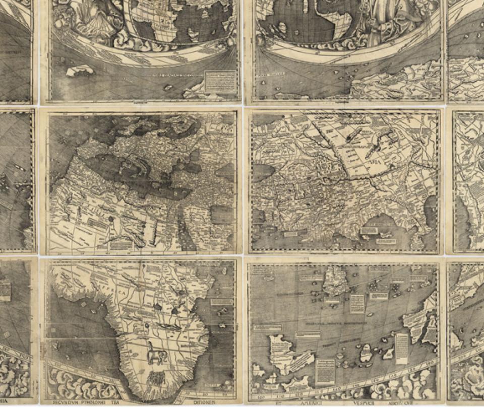 Curiosidades del mapa en el que aparece nombre América por primera vez