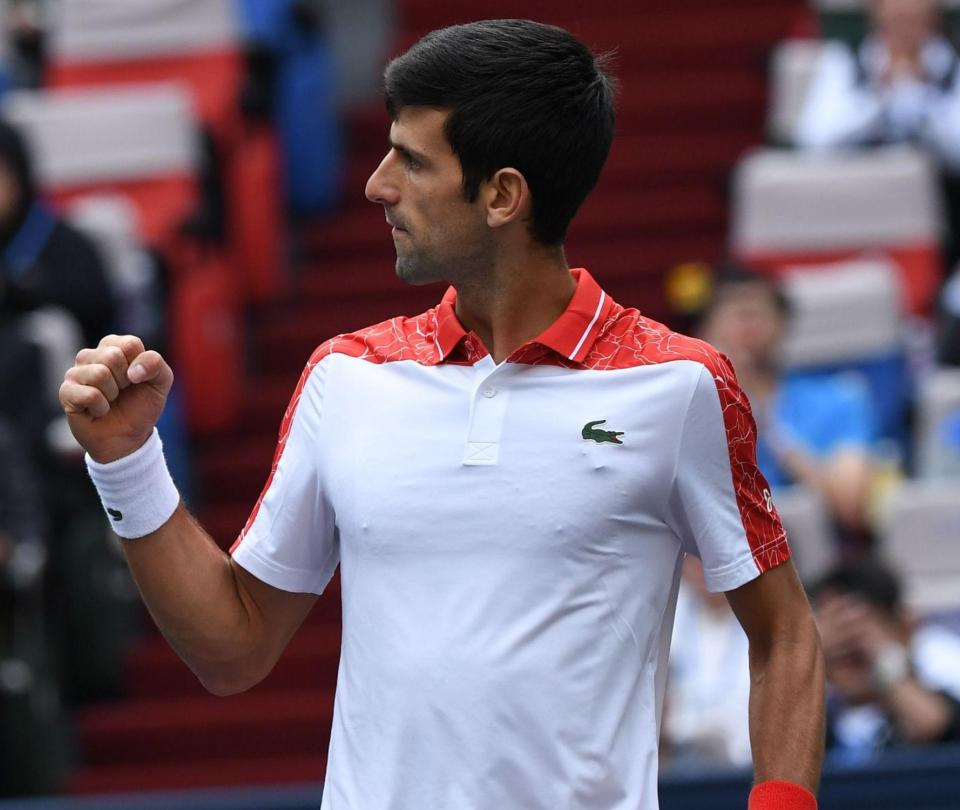 Djokovic-Zverev y Federer-Coric, semifinales en Shanghai