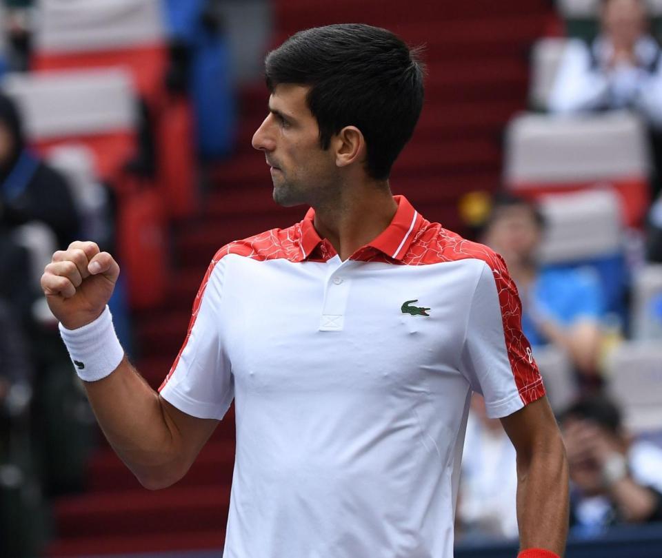 Djokovic enfrentará a Zverev en las semifinales de Shanghái