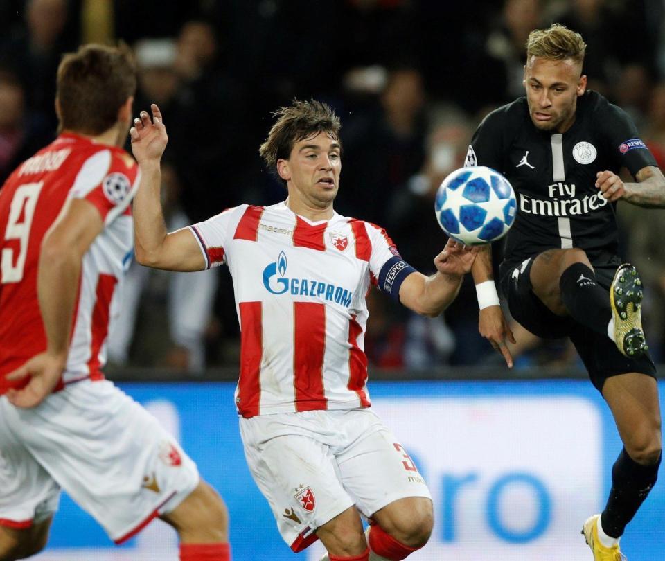 PSG y Estrella Roja desmienten un amaño en la Champions