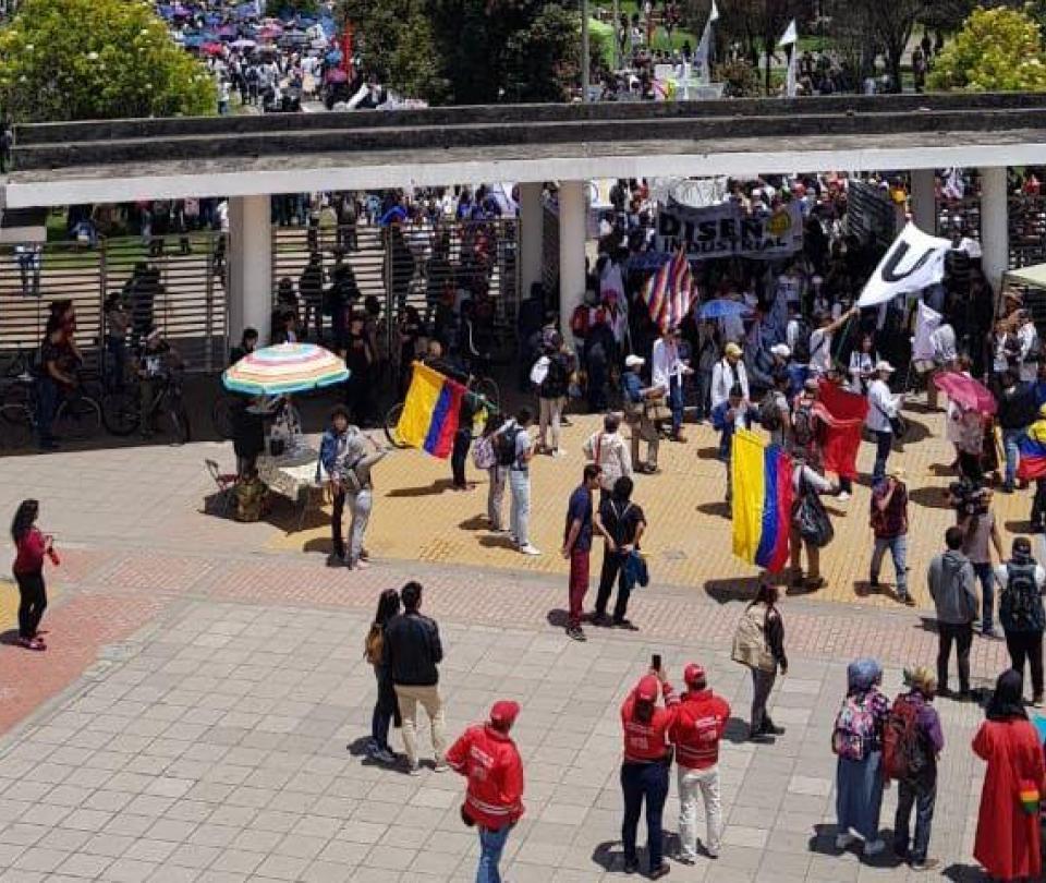 ¿Cómo transcurrieron marchas estudiantiles de este jueves en el país?