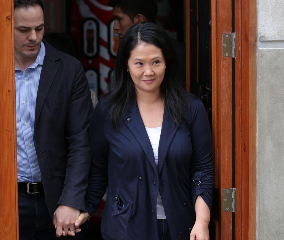 Keiko Fujimori indultará a su padre si llega a ser presidenta de Perú