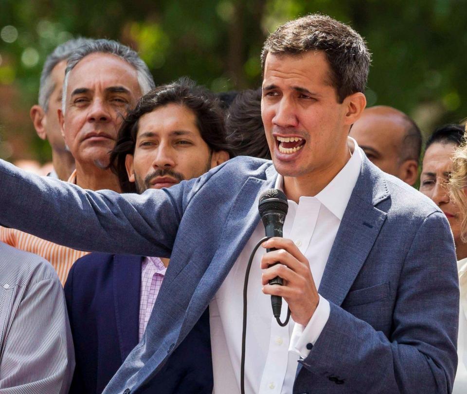 Liberan a Juan Guaidó, presidente de la Asamblea Nacional venezolana