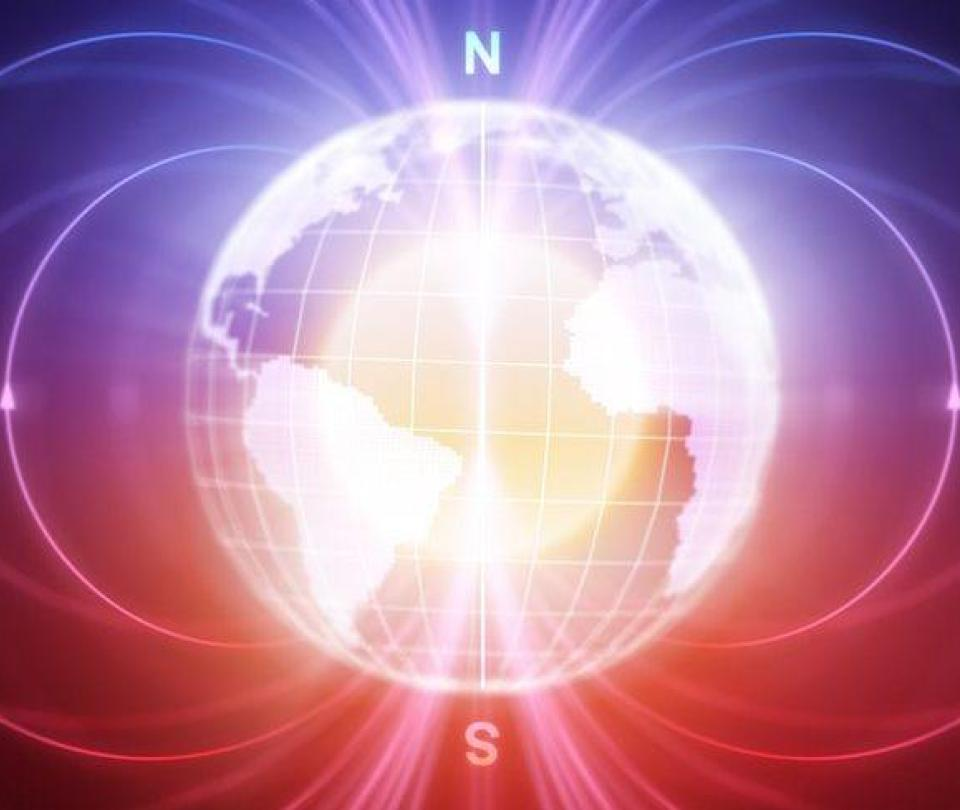 El veloz e inesperado cambio en el campo magnético de la Tierra