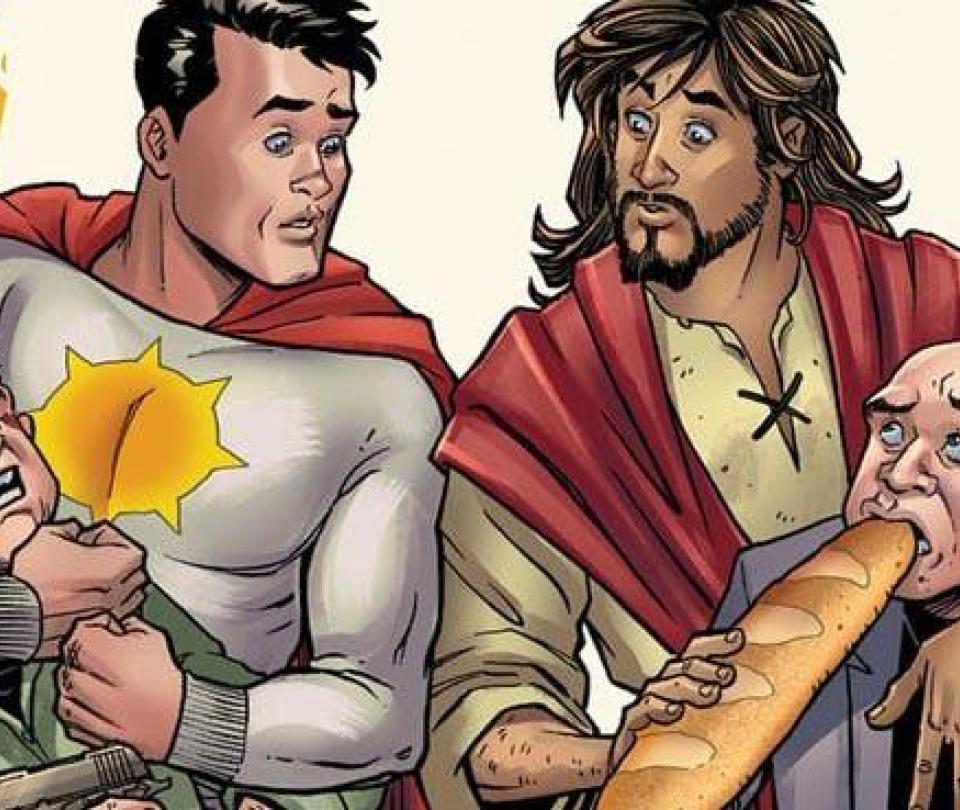 Superhéroe le enseñará a Jesús a salvar a la humanidad en cómic de DC