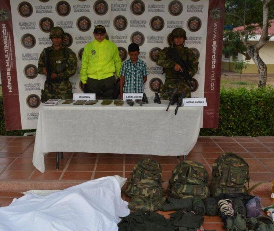Ejército Nacional da de baja a guerillero del Eln en Arauca